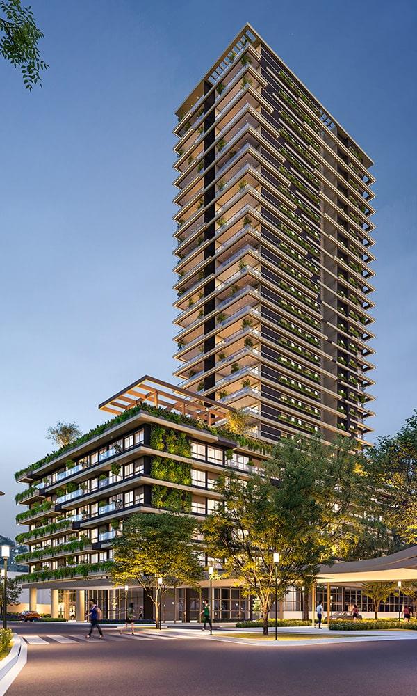 Brickell Iguatemi - Apartamentos em Complexo Shopping Iguatemi Esplanada